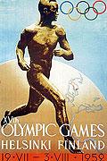 1952赫尔辛基奥运会海报