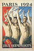 1924巴黎奥运会海报