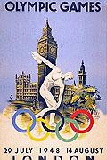1948伦敦奥运会海报