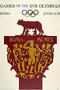 1960罗马奥运会海报