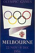 1956墨尔本奥运会海报