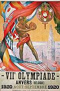 1920安特卫普奥运会海报