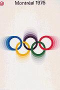 1976年蒙特利尔奥运会海报