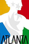 1996年亚特兰大奥运会海报